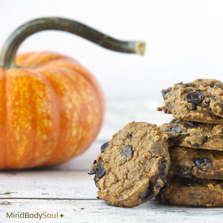 Healthy Pumpkin Cookies! Perfect for Fall!