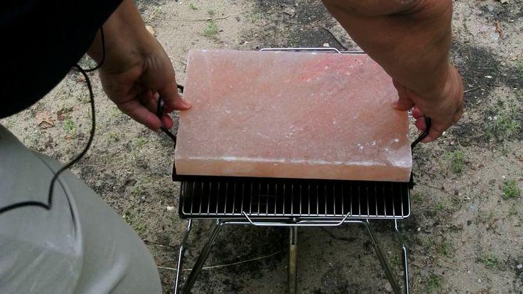 Cooking on a Himalayan Salt Stone