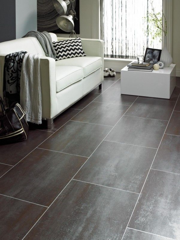 Marvelous Tile Look Vinyl Part - 5: Buy Online Today Karndean Opus Collection, Ferra SP215. Vinyl Tile Flooring  Planks From Best