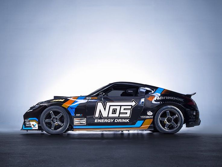 Nos Energy Drink Nissan 350z Drift Livery 3d Design