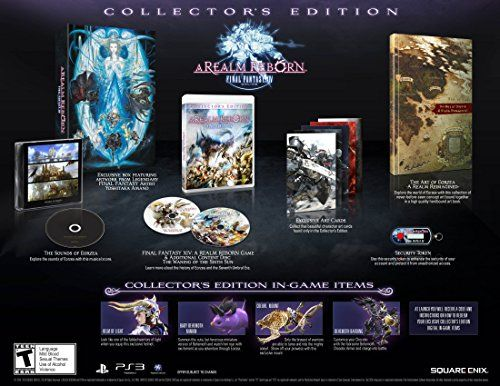 Final Fantasy XIV A Realm Reborn Collectors Edition  Playstation 3 ** Details can be found by clicking on the image. Note:It is Affiliate Link to Amazon.
