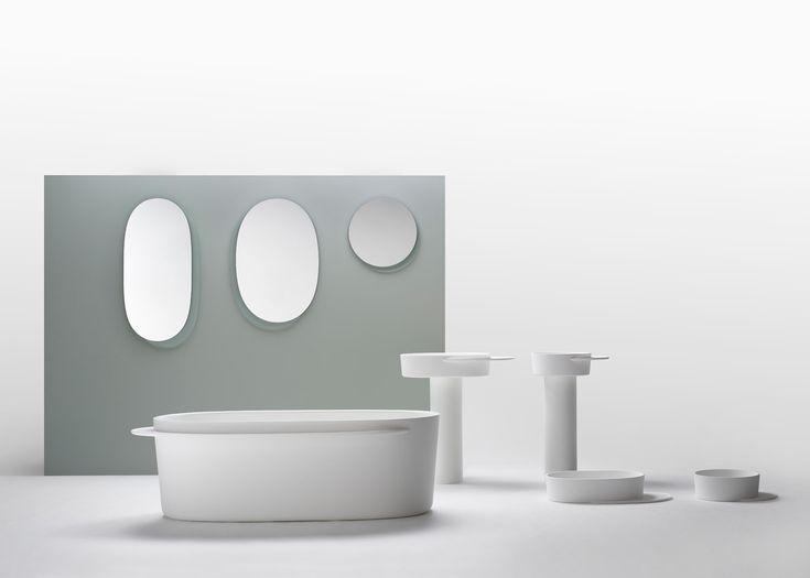 Sebastian Herkner designs Plateau range of bathroom products