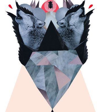 Wolf Scream - Wolf Scream by Marie Willumsen for sale online.  You can buy this piece at www.artrebels.com