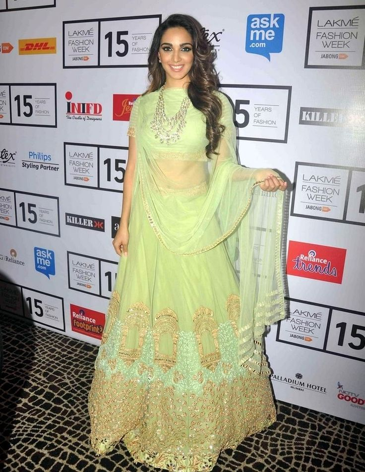 Kiara Advani At Lakme Fashion Week