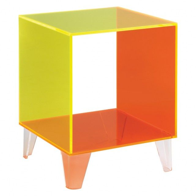 EBBIE Neon Acrylic Side Table
