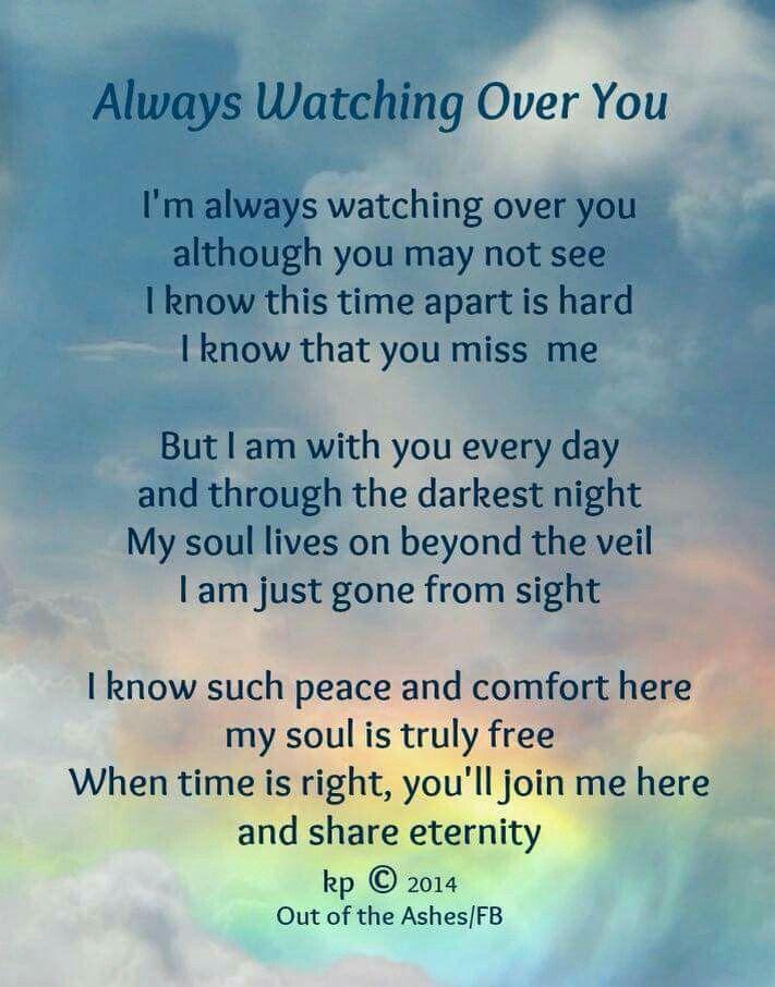 we will meet again in heaven poem