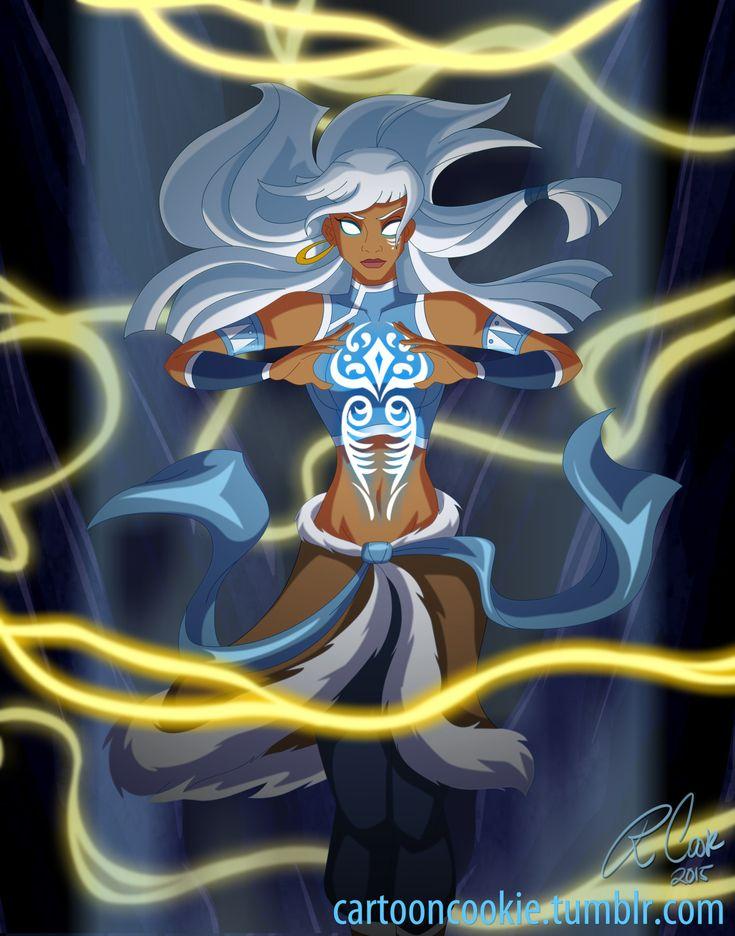 Kida from Atlantis as Avatar Korra.