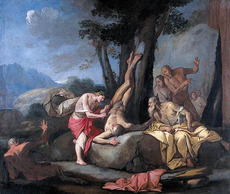 Apollo and Marsyas by CARPIONI