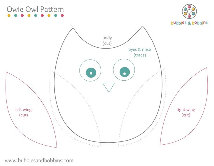 108 Best Owls Patterns & Templates Images On Pinterest | Crafts