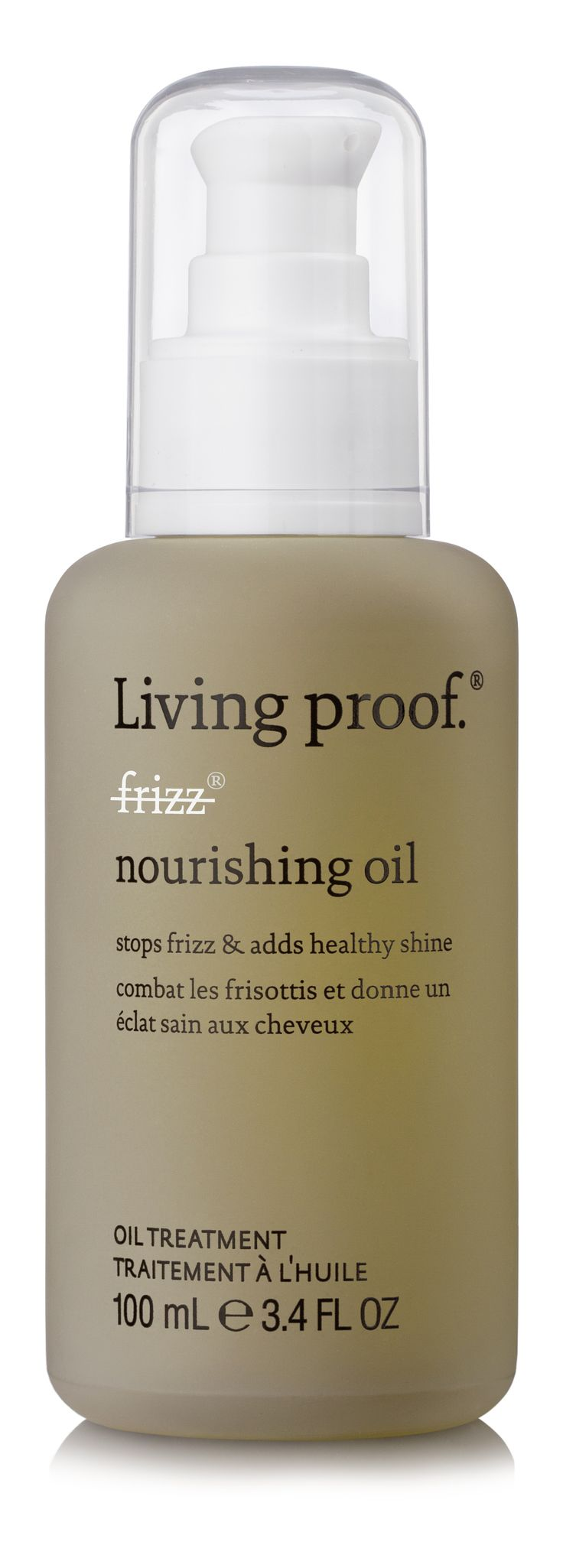 Living Proof's No Frizz Nourishing Oil provides the nourishment and manageability your coarse hair craves.