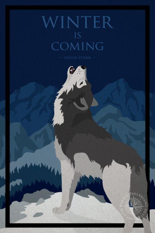 "Winter Is Coming: House Stark - Deviant Artist ""windsofbeleriand"""