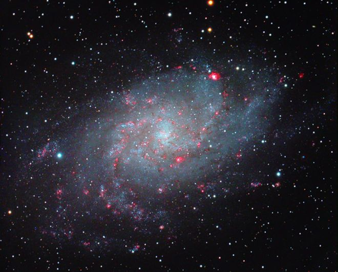 Triangulum Galaxy Dazzles