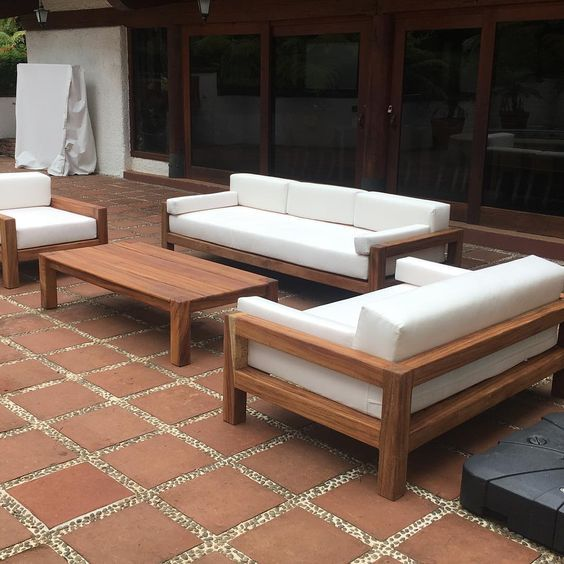 Pin de mariusz en meble taras en 2019 muebles de - Cojines muebles exterior ...