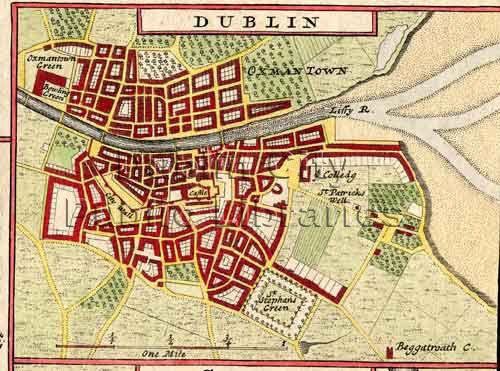 9 best Old Maps of Dublin images on Pinterest City maps Dublin