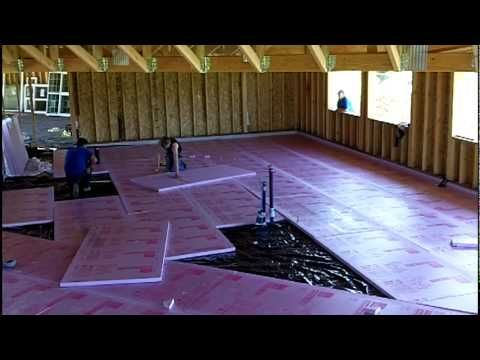 Crete Heat Insulated Floor Panel Systems Youtube In 2019