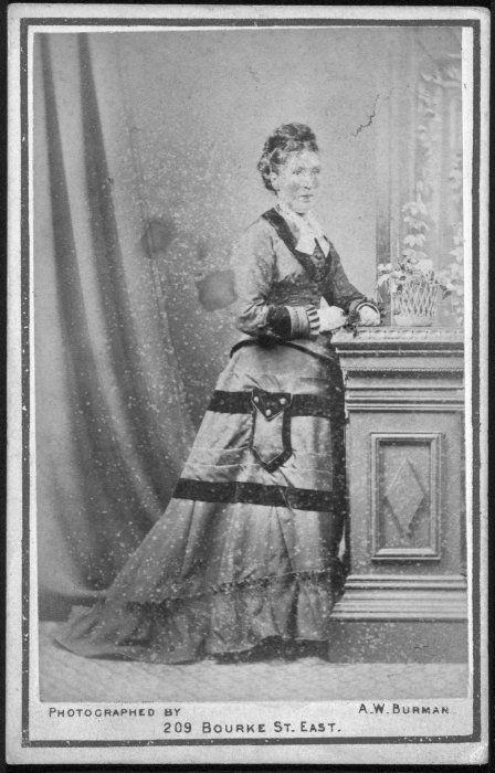 Portrait of Ann Diamond, 1827?-1881
