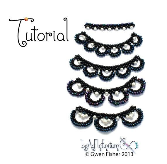 TUTORIAL Beaded Lace Swags Part 3 of a Beaded Lace Adventure Series