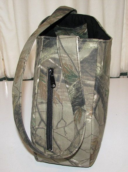 Concealed Carry Purse Camouflage Zippered Side by adfabinidaho, $135.00