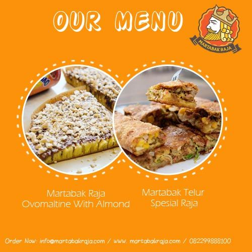 This our menu, do you want it? c'mon guys order now and visit our outlet!