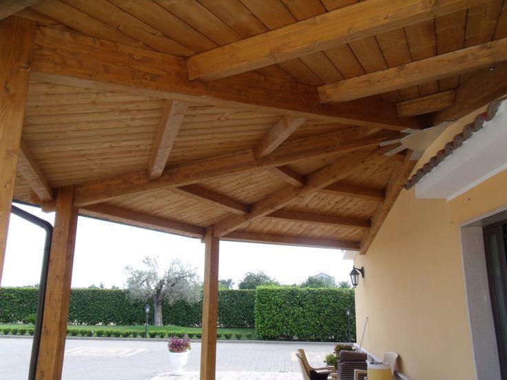 copertura in legno