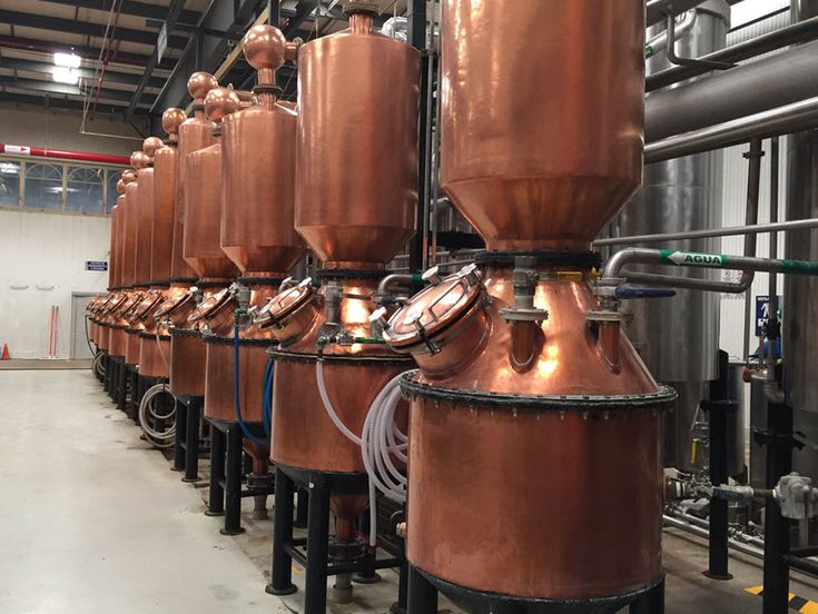 Patron Hacienda Distillery Insider's Tour - Take a look at some of the many hand hammered copper pot stills used to make Mexico's liquid gold - Tequila.