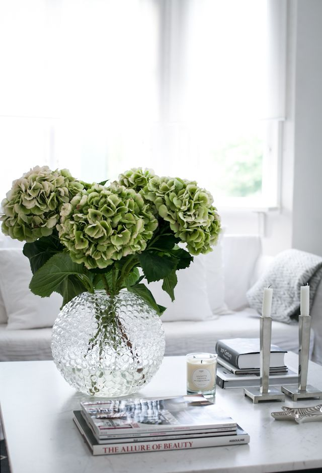 coffee table decor styling