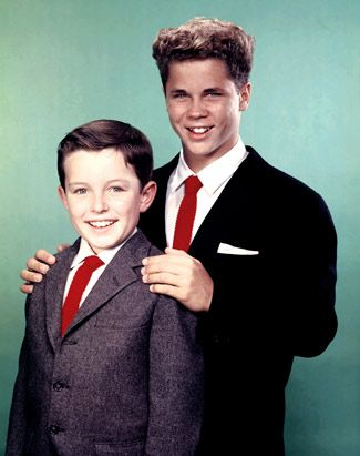 Jerry Mathers and Tony Dow (Leave it to Beaver)