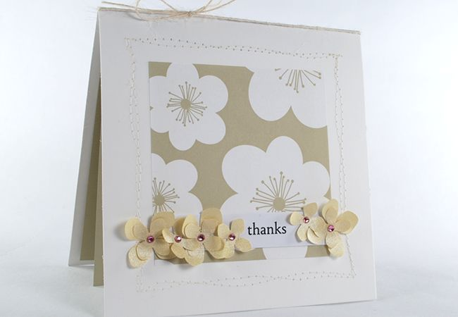 Wild Roses paper design & Tiny {Heartfelt} Sentiments