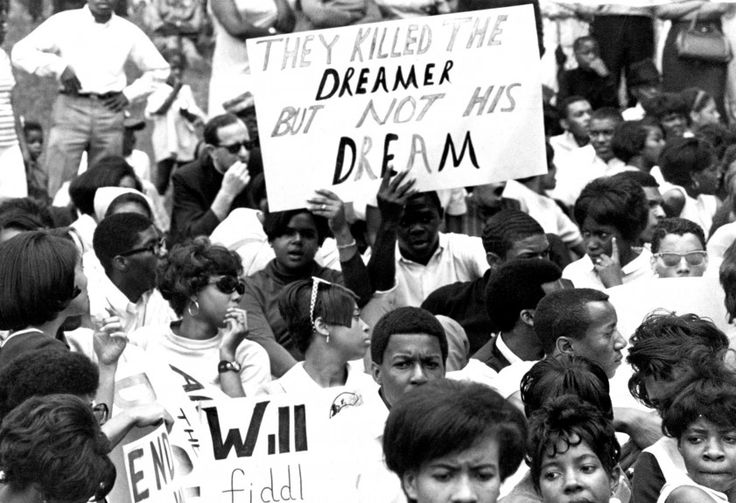 """He died 48 years ago today. Ebony: """"Dr. MLK Jr.'s Assassination: Rare Images from the Day"""""""