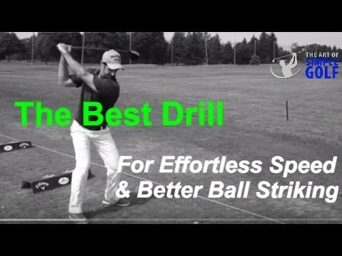 Simple Golf Swing Technique For Effortless Power: Let Your Arms Swing! - YouTube