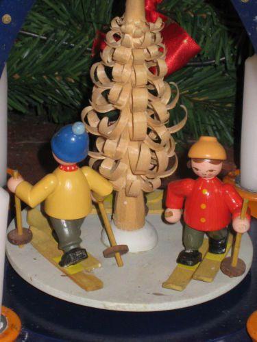Beautiflul Erzgebirge Weihnachts Pyramid with Children Christmas Carousel | eBay