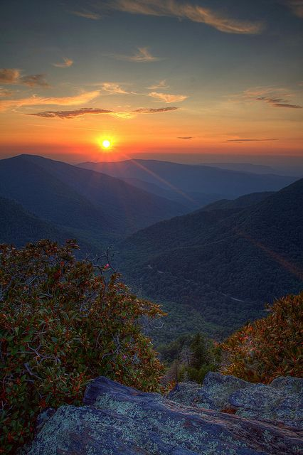 Chimney Tops, Great Smoky Mountains, Tennessee