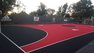 Futsal Court for DC United with Laykold Masters by Ace Surfaces