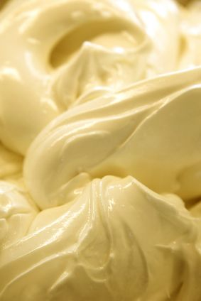 Crema Gelato - Crema flavor is the most popular flavor in Italian gelaterias. It is as simple as gelato can get....milk, eggs, and sugar. It has a rich, yellow color from the deep hue of the egg yolks.