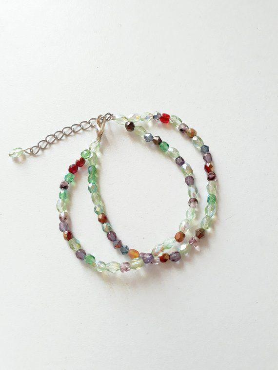 15d14e8398105f Multicolored swarovski crystal bracelet