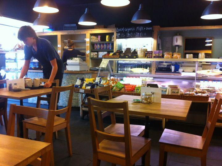 The Good Food Store in Lyme Regis, Dorset