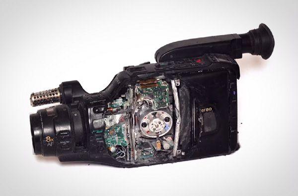 Mooie stop motion video laat objecten verdwijnen