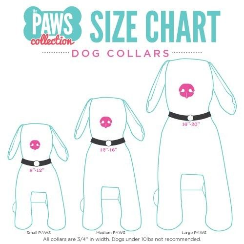 Paws Collection: Sizing Chart  Origami Owl's new PAWS Collection has a dog Living Locket + Collar for just about every size! Here's how you can measure to find the right size for your pup! Feel free to take a peek at the collection, too. Http://rosag.origamiowl.com