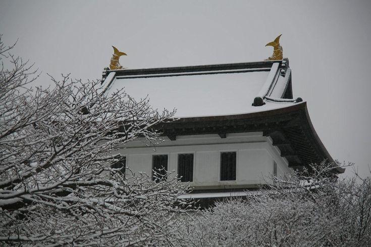 Matsumae castle in Hokkaido