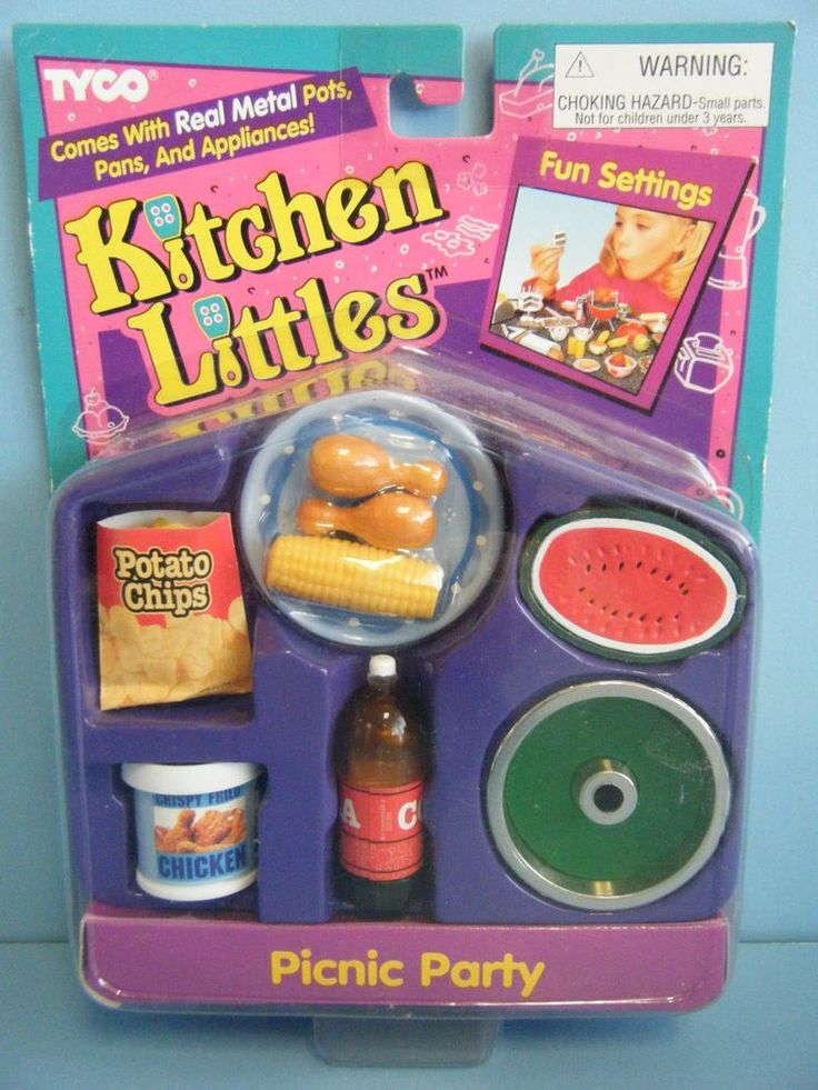 TYCO KITCHEN LITTLES PICNIC PARTY *NEW* #TYCO