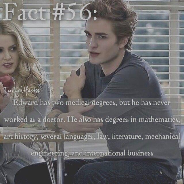 "8 Synes godt om, 2 kommentarer – Twilight Facts (@twilightfactss) på Instagram: ""~ QOTD: What's your dream job? - Autumn {#twilightsaga#edwardcullen#twifact56}"""