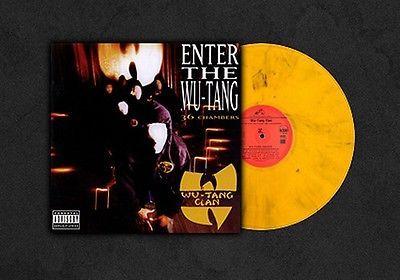 Super Rare Wu Tang 36 Chambers Raekwon Method Man Ghostface Colored Vinyl Lim Ed