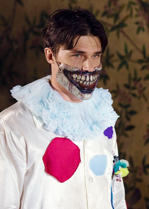 Taddy is more frightening than the clown - any THAT'S saying something! AMERICAN HORROR STORY