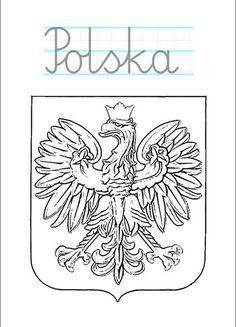 polska-napisy Święto Niepodległości w przedszkolu – karty pracy dla