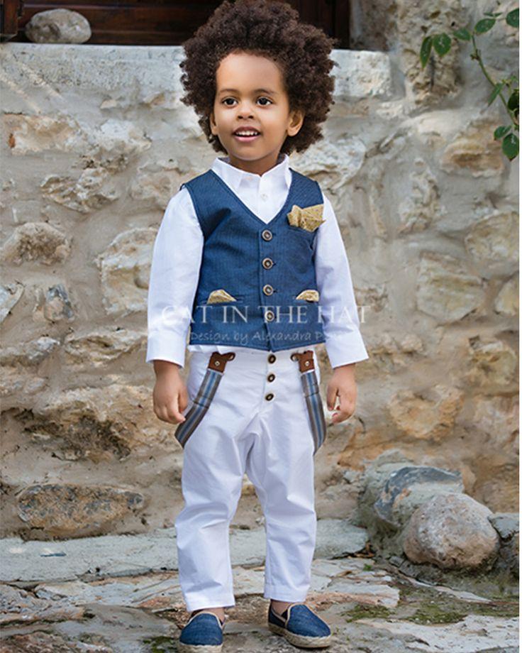 #vaptisi_online.gr #cat_in_the_hat #christening_clothes #boys_collection #fashion #vintage #shop_online