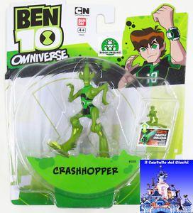 Ben 10 Omniverse Shocksquatch | Ben 10 (Ben Ten) Omniverse CRASHHOPPER 10cm + Acc Omnitrix Challenge ...