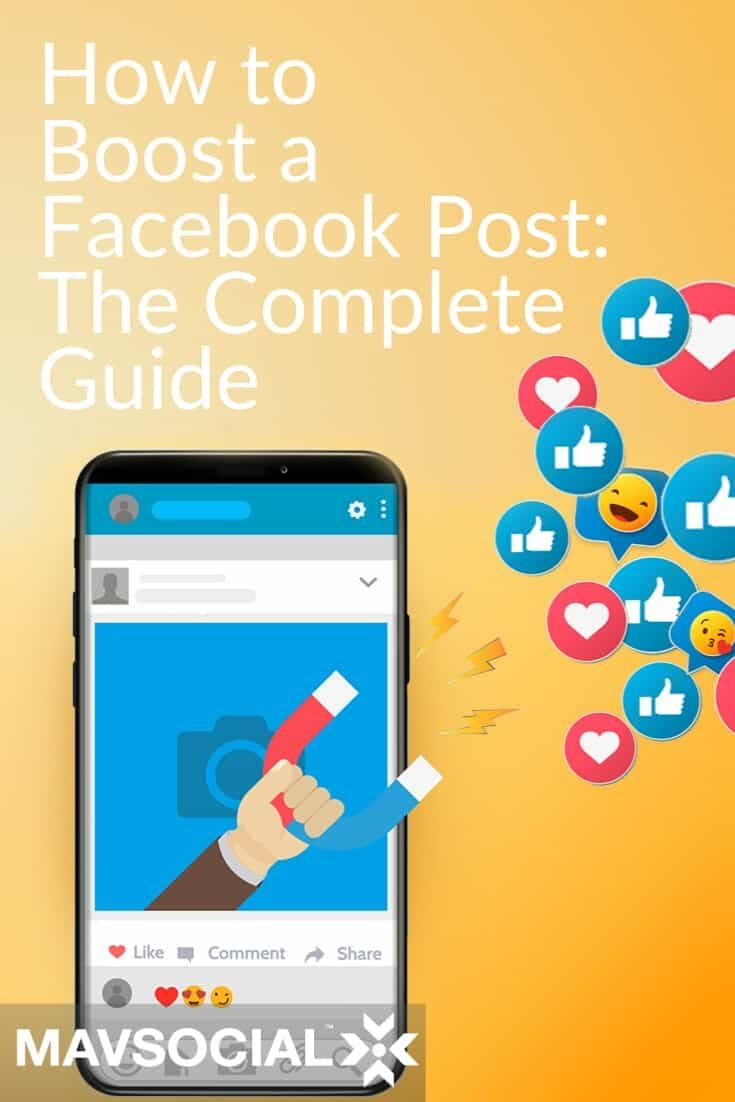 How To Boost A Facebook Post The Complete Guide Facebook Marketing Strategy Using Facebook For Business How To Use Facebook