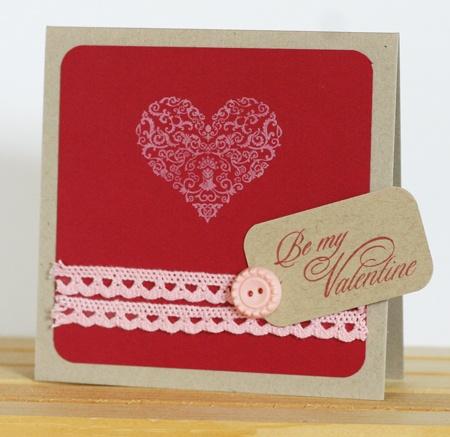 Stamps used: Elegant Valentine. By Tricia Ulberg