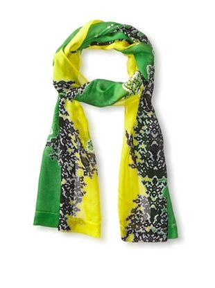59% OFF Hale Bob Women's Multi Paisley Scarf, Green Multi