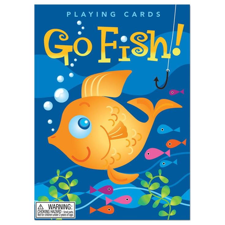 Color Go Fish Card Game